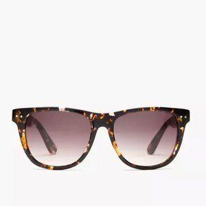 Madewell Sunny Day Tortoise Mirror Shades Sunglass
